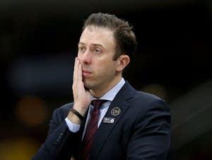 Minnesota basketball head coach Richard Pitino