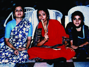 Ranee Ramaswamy, Alarmél Valli and Aparna Ramaswamy.