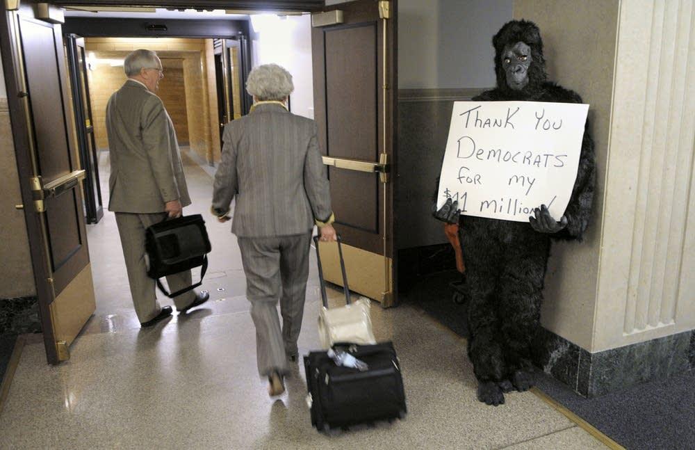 Gorilla lobbyist?