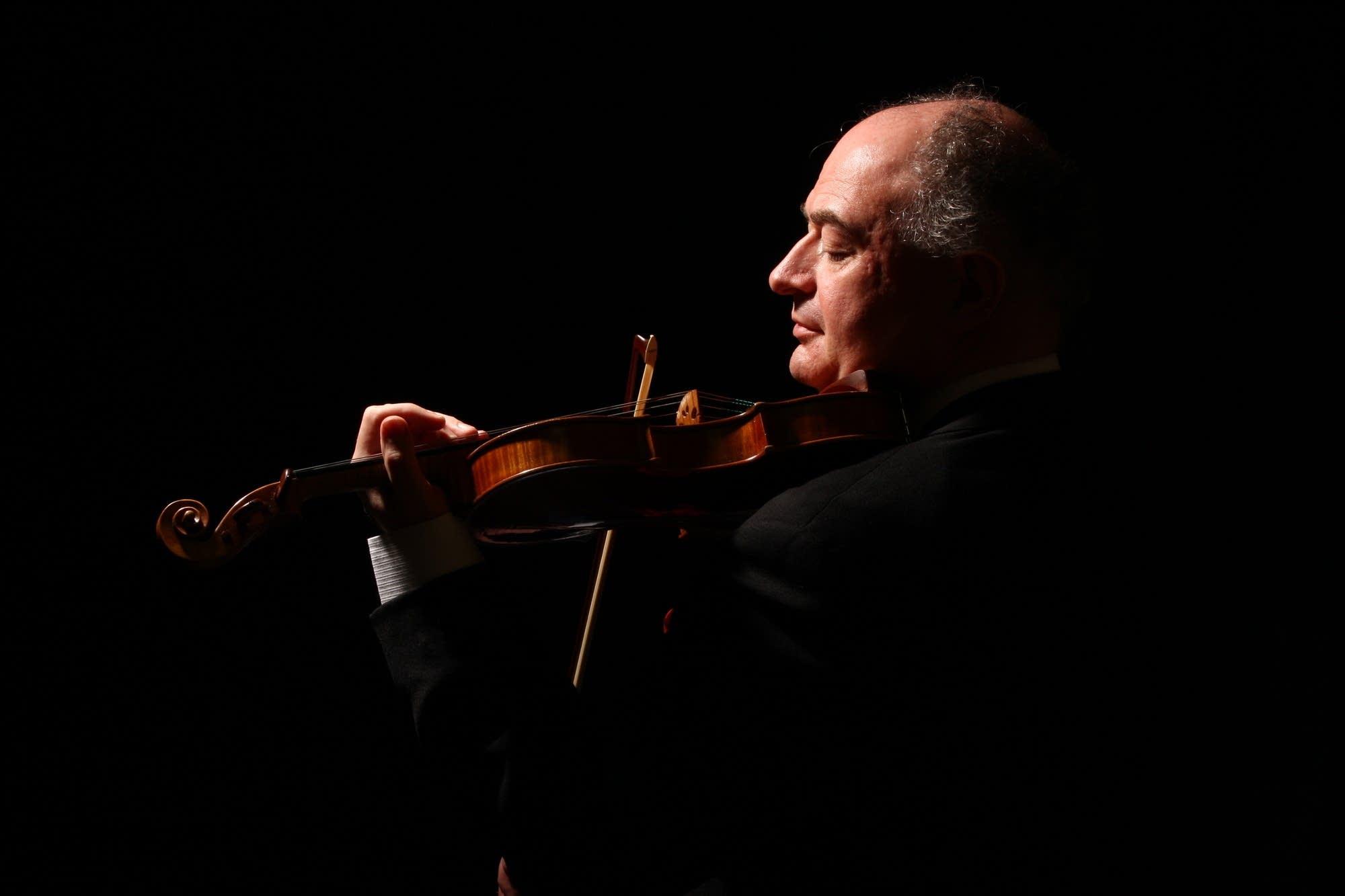 Violinst Ilya Kaler