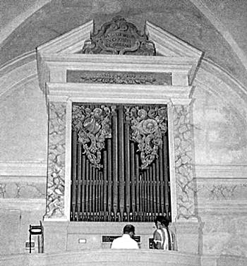1797 Agati organ at Saint Michael the Archangel Church,...