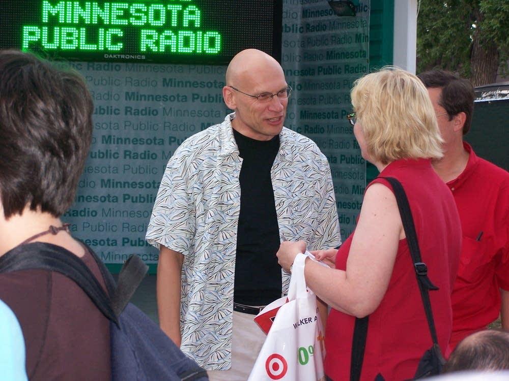 Mark Wheat at the 2006 Minnesota State Fair