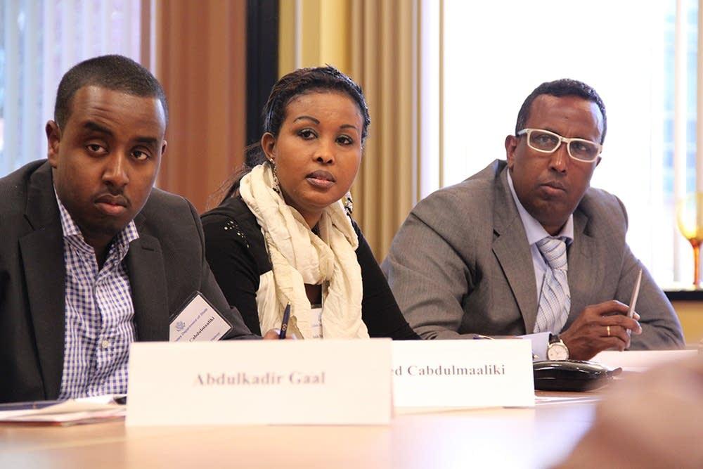 Somali delegation