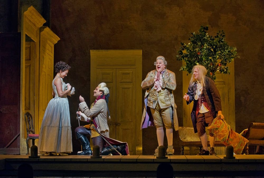 A scene from Rossini's The Barber of Seville