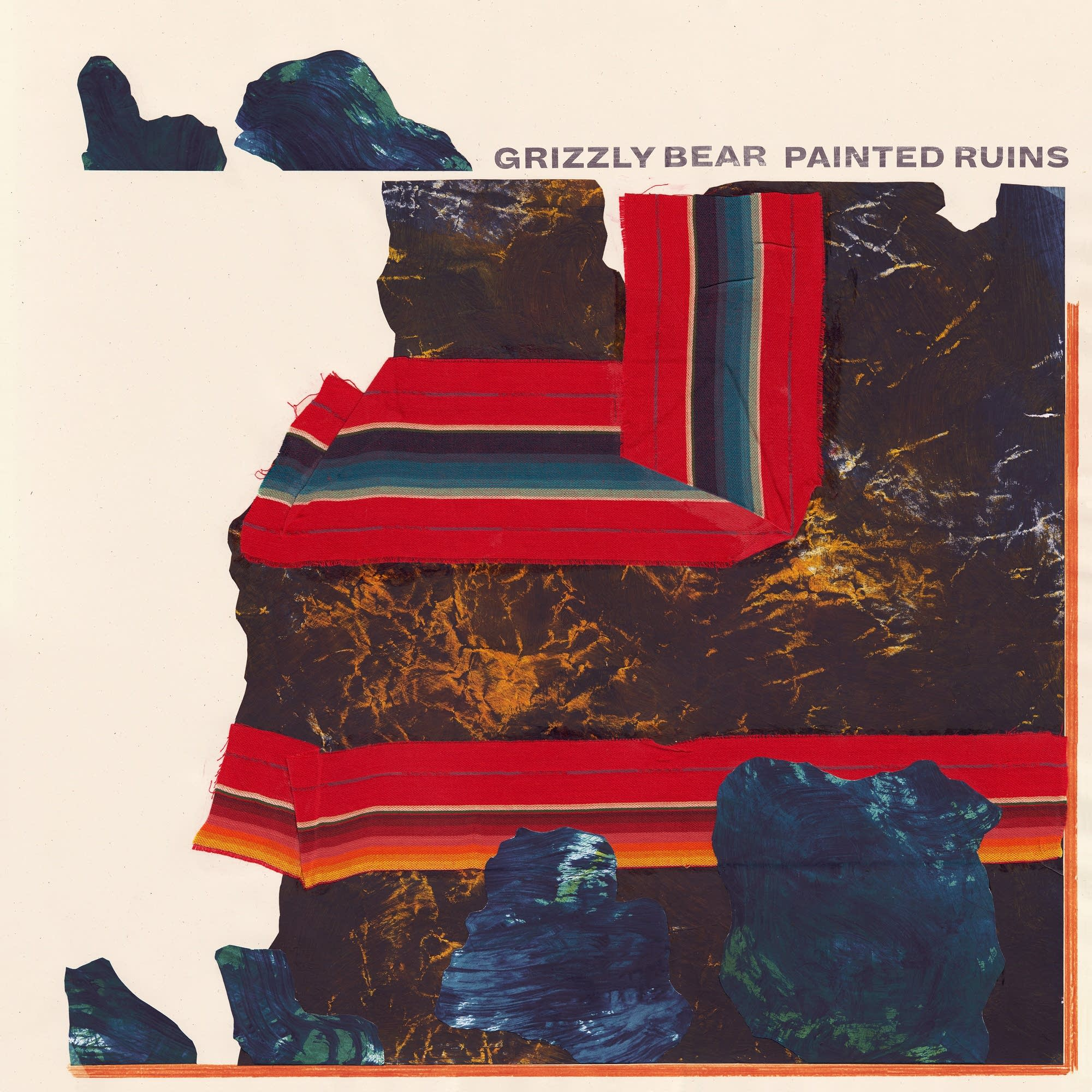 Grizzly Bear, 'Painted Ruins'