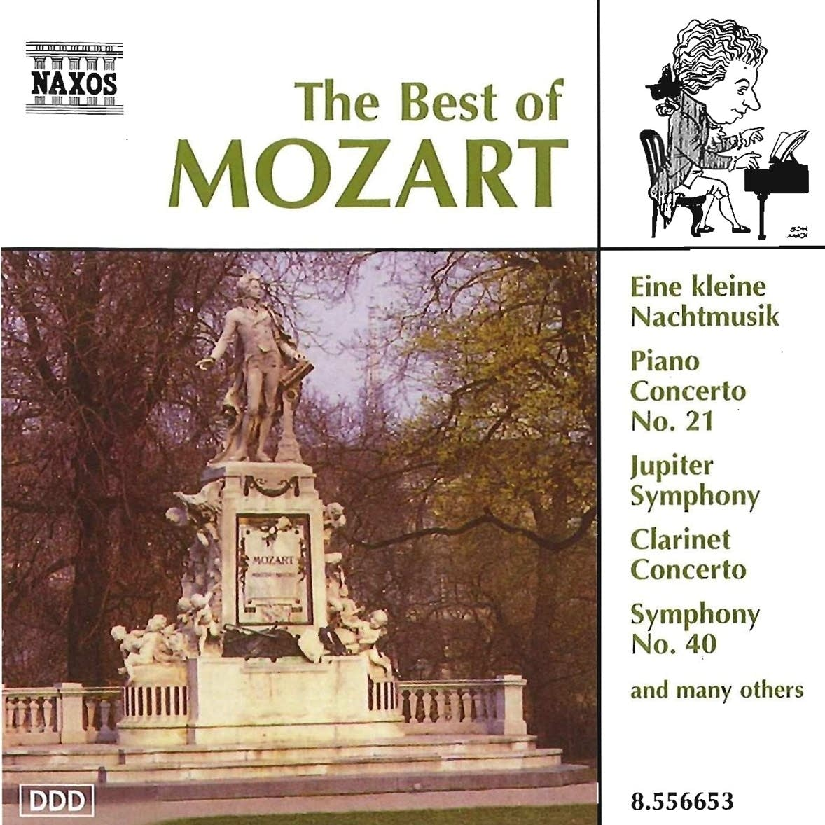 Daily Download: Wolfgang Amadeus Mozart - Clarinet Concerto