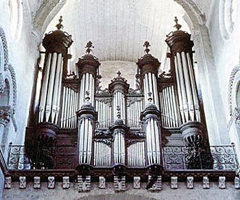 1900 Cavaillé-Coll organ at Saint Sever, Provence, France