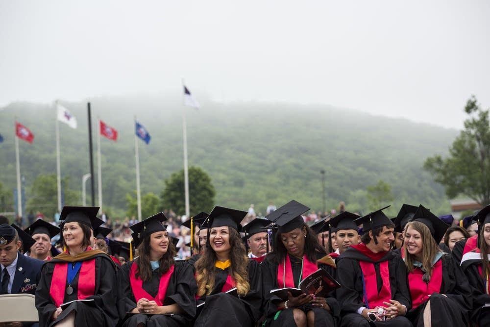 Liberty University graduation