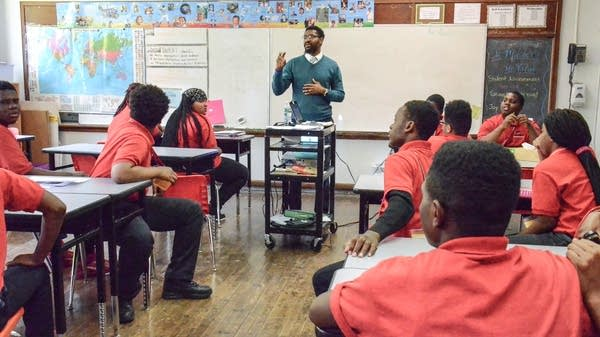 Why are there so few black male teachers?