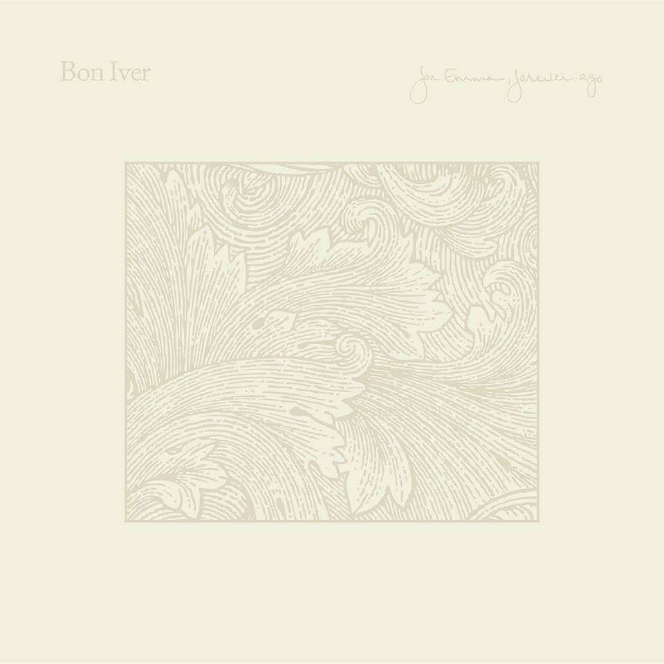 Cover art for Bon Iver's 'For Emma' reissue.