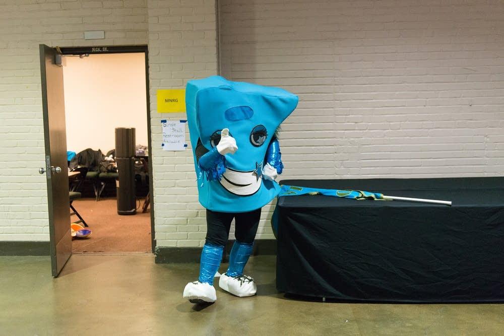 Minnie Sorta Nice, mascot of the Minnesota team.