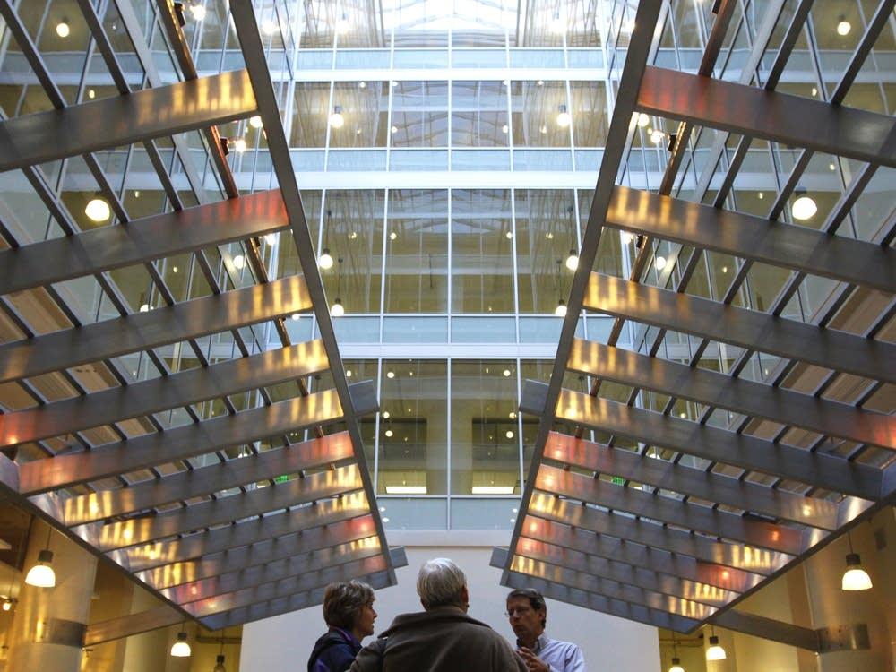 Sears building interior