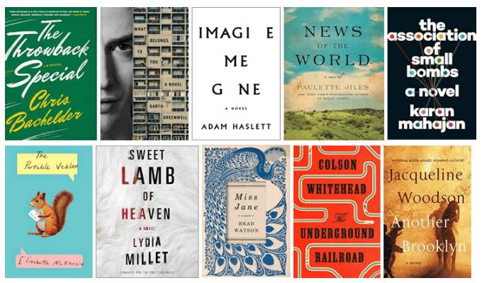 The National Book Award fiction longlist