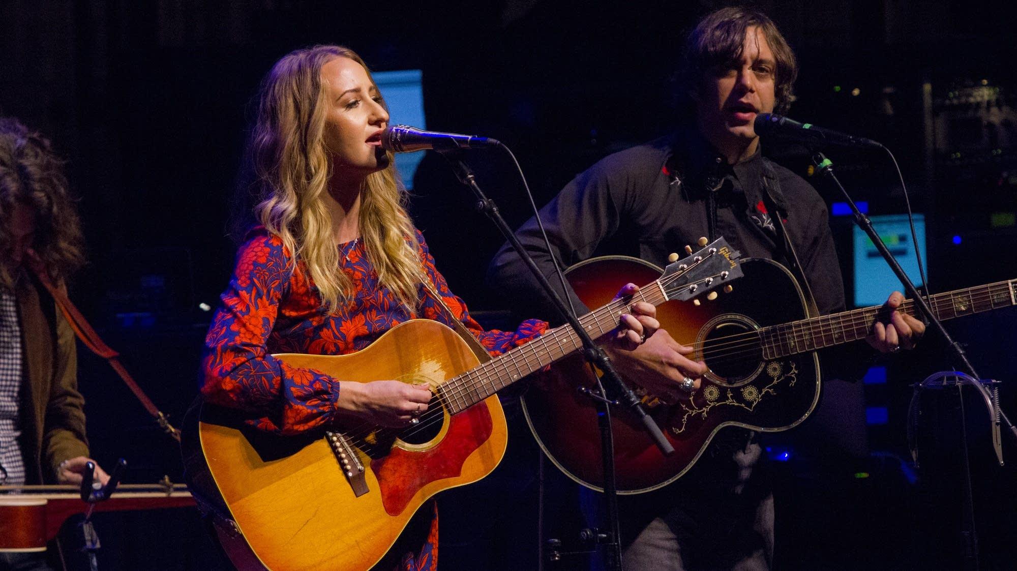 Margo Price and Jeremy Ivey