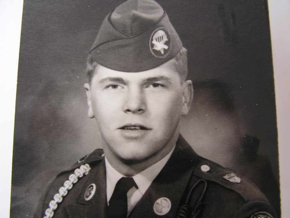 Wayrynen in uniform