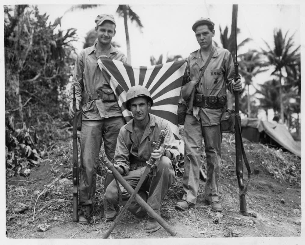 Soldiers in Guam