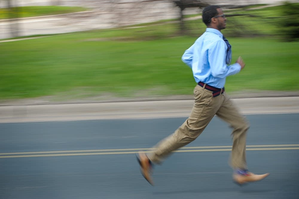 Mohamed runs