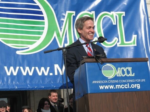 Norm Coleman at the MCCL March for Life