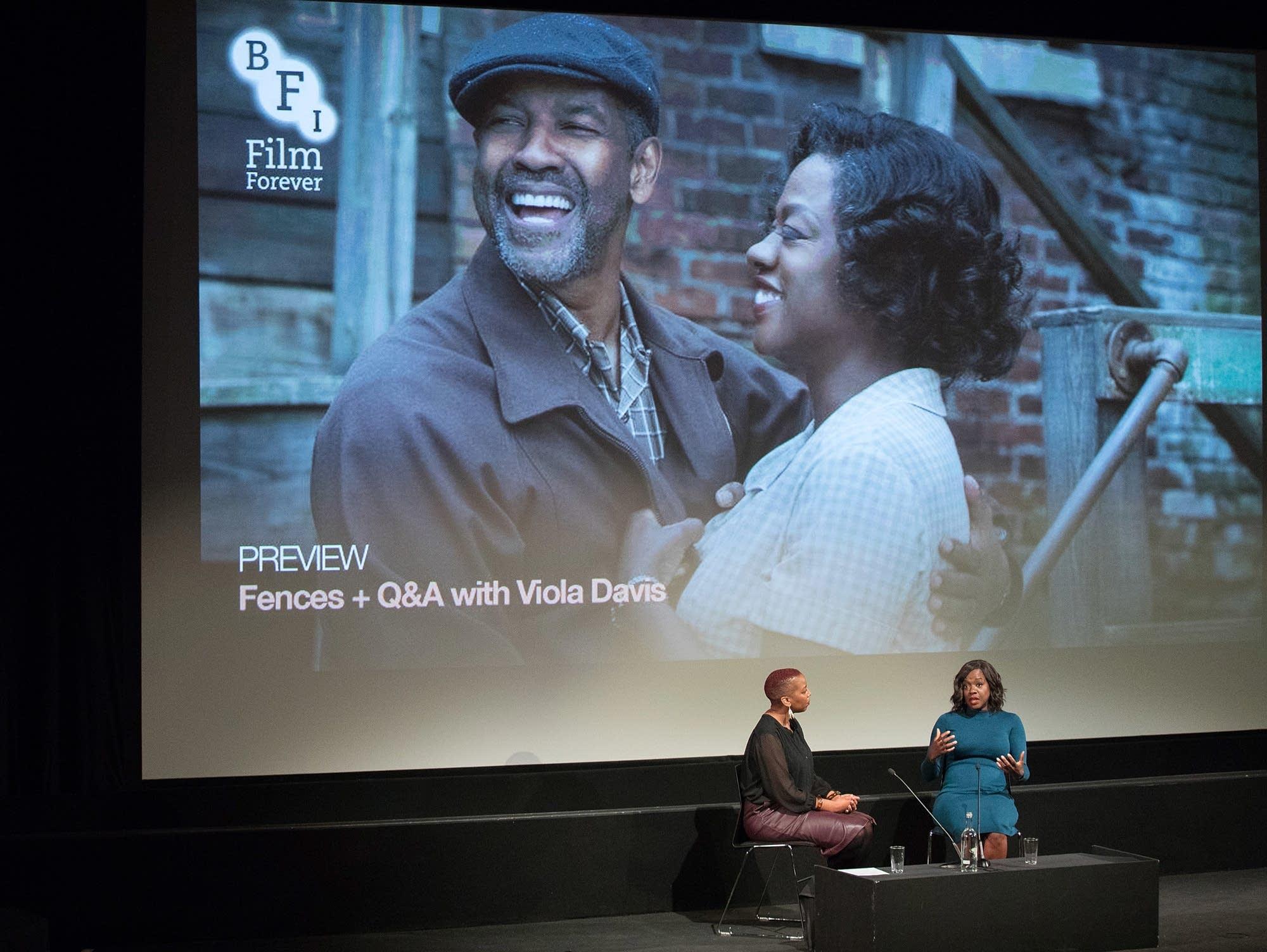 Viola Davis discusses 'Fences'
