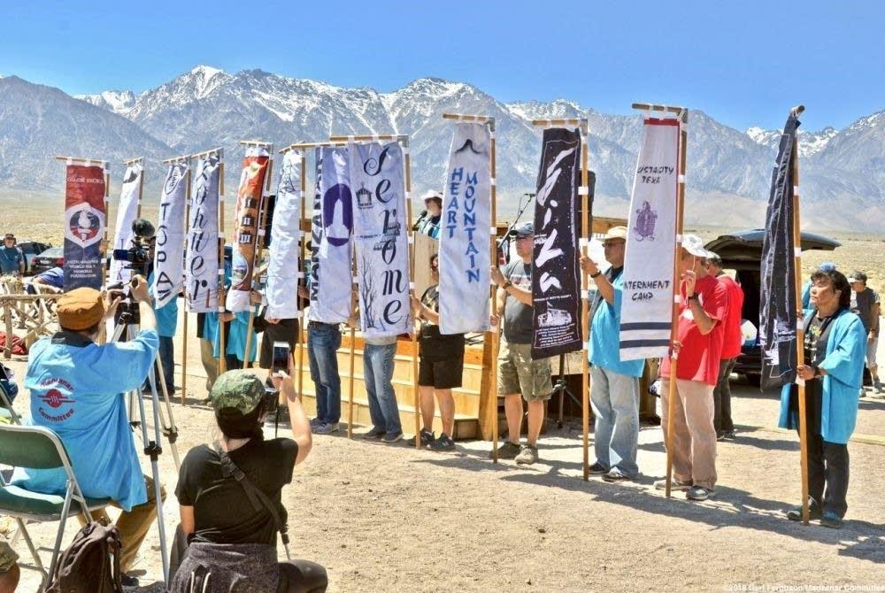 Annual pilgrimage to Manzanar