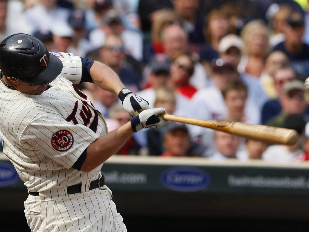 Twins win first game at Target Field | MPR News