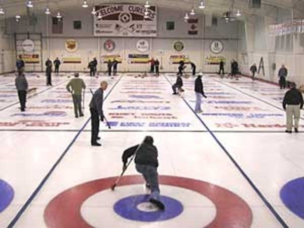 Curling league night