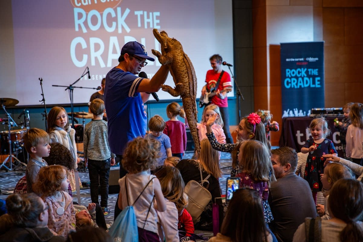 Getting wild with the Jolly Pops at Rock the Cradle 2020.
