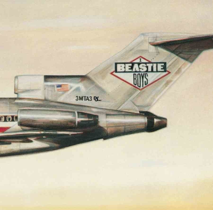 Beastie Boys License to Ill album art