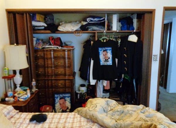 Marcus Golden's bedroom