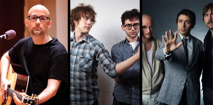 Moby, MGMT & Peter Bjorn and John