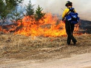 Minnesota firefighters brace for busy spring wildfire season