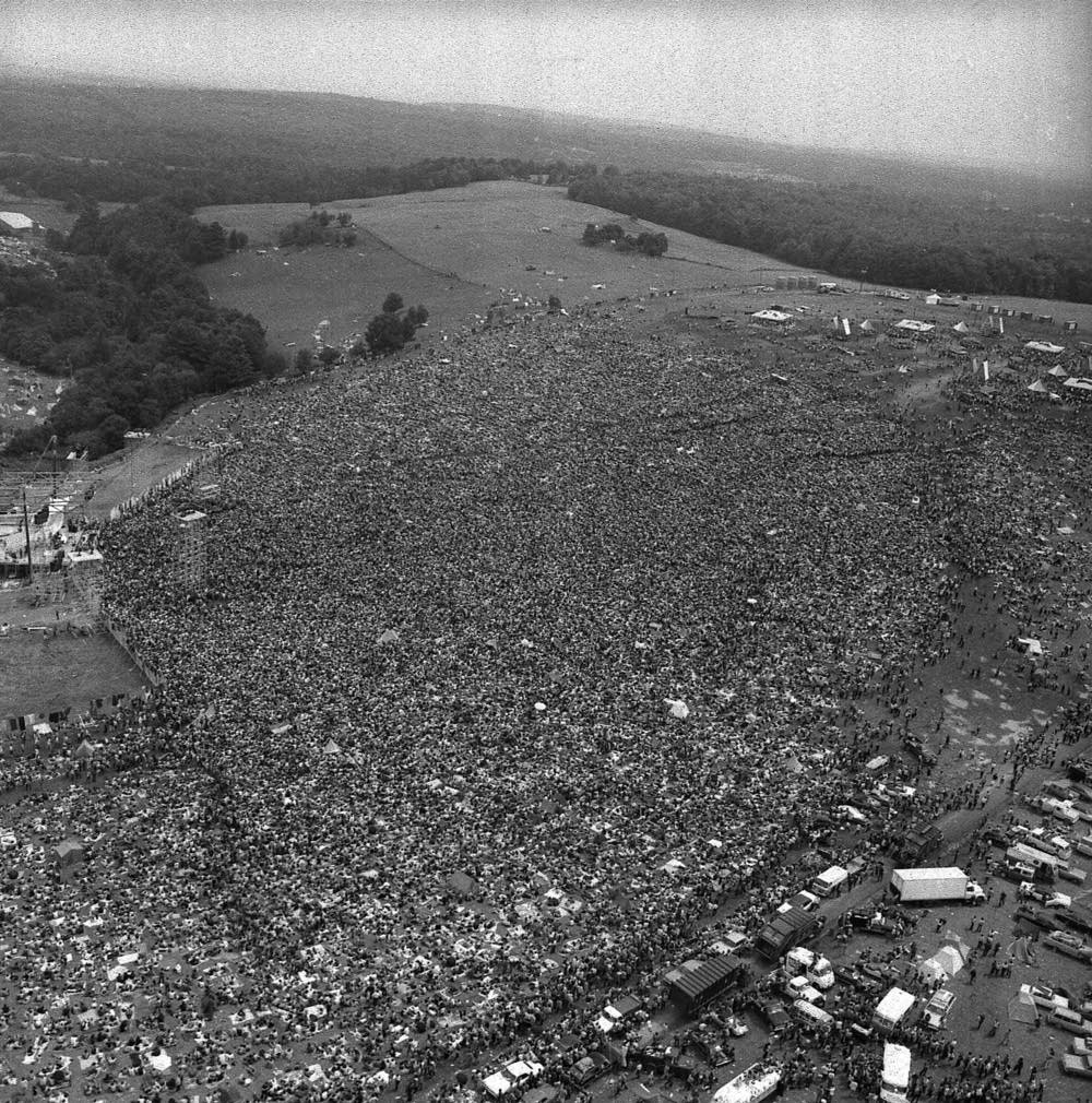 Today In Music History: Woodstock Begins