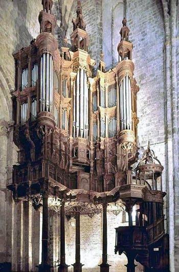 1982 Lacroix organ at St. Bertrand, Comminges, France