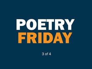 Every Friday in April, dive into poetry from Minneapolis publishers.