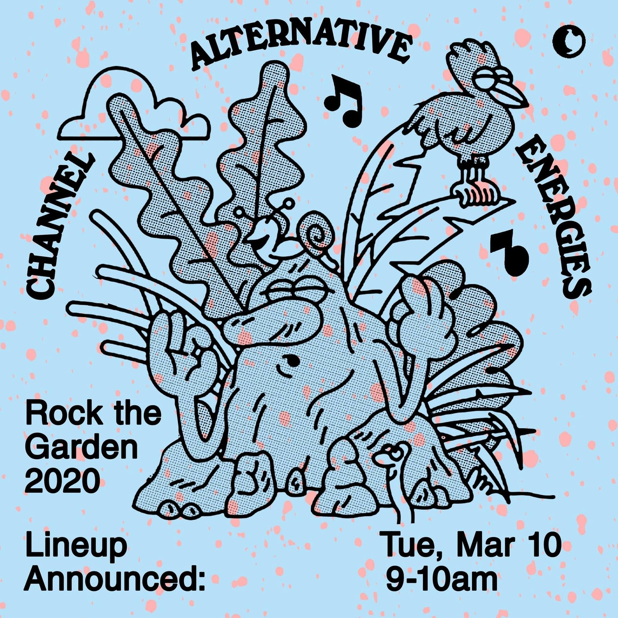 Rock the Garden Lineup announcement