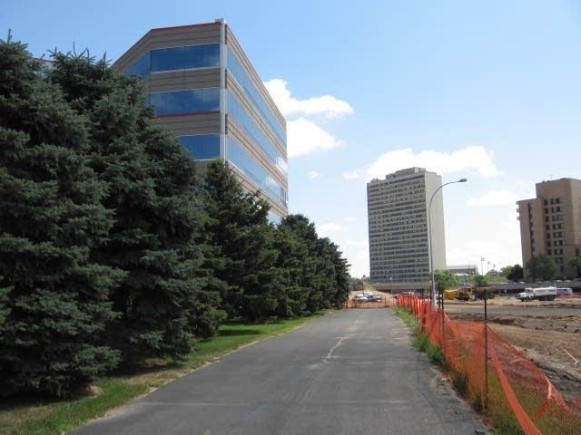 U of M building near I-35W bridge