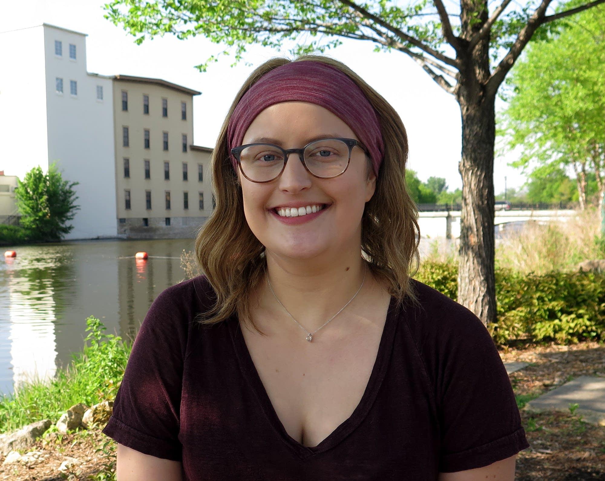 St. Olaf College sophomore Kathryn Cora Hinderaker