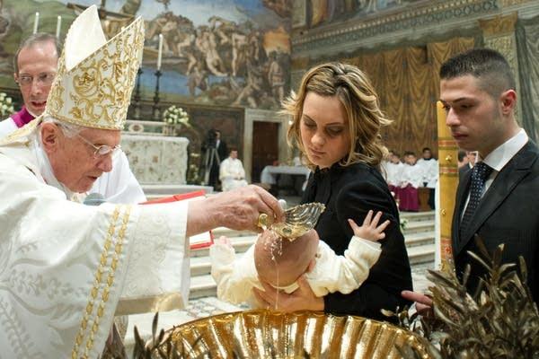 Celebrating baptisms