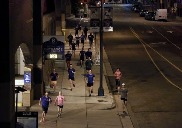 Running together