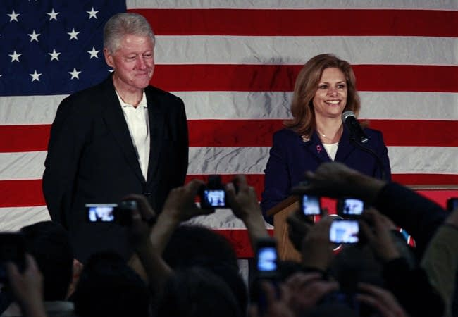 Clinton and Tarryl Clark