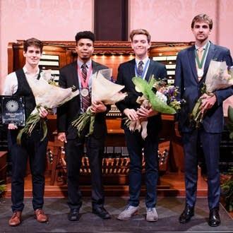 From Left to Right: Greg Zelek, Alcee Chriss III, Joshua Stafford, Colin MacKnight