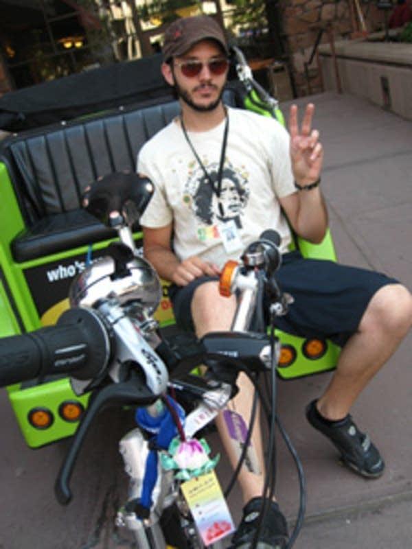 Booming bike business