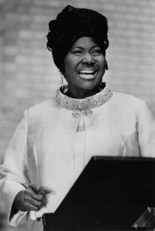 Today in Music History: Remembering Mahalia Jackson