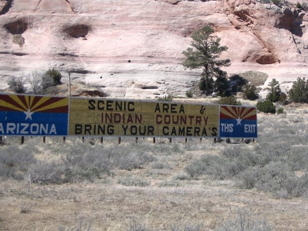 Sign at Arizona-New Mexico