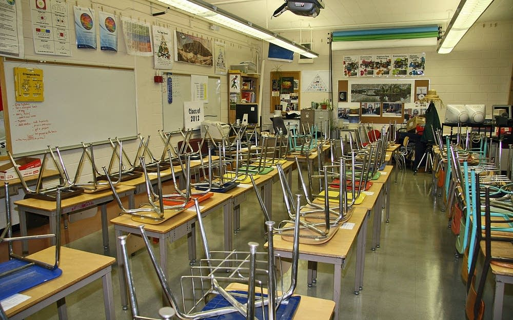 Spanish classroom at Patrick Henry High