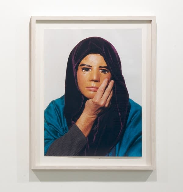 Jimmie Durham, 'Self-Portrait Pretending to Be Maria Thereza Alves'