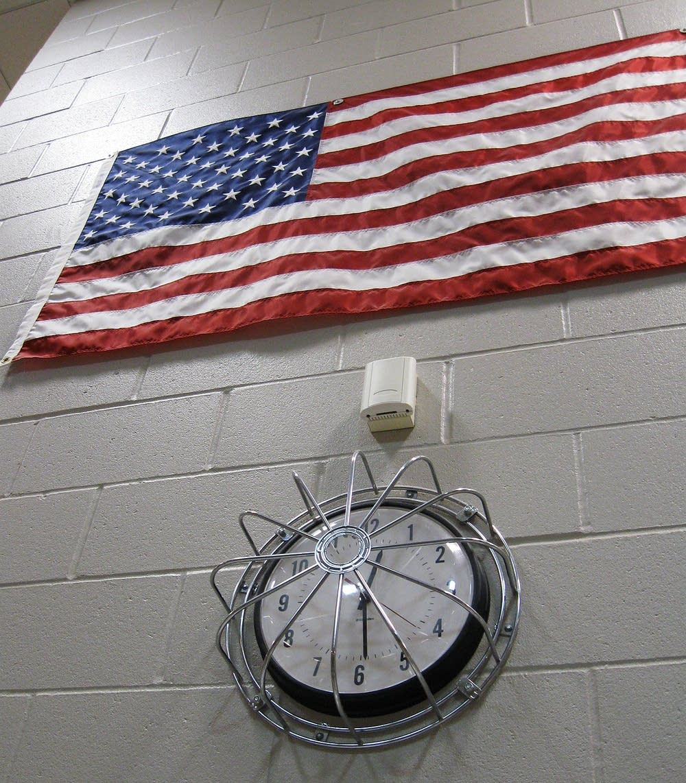 Flag in Hennepin County jail