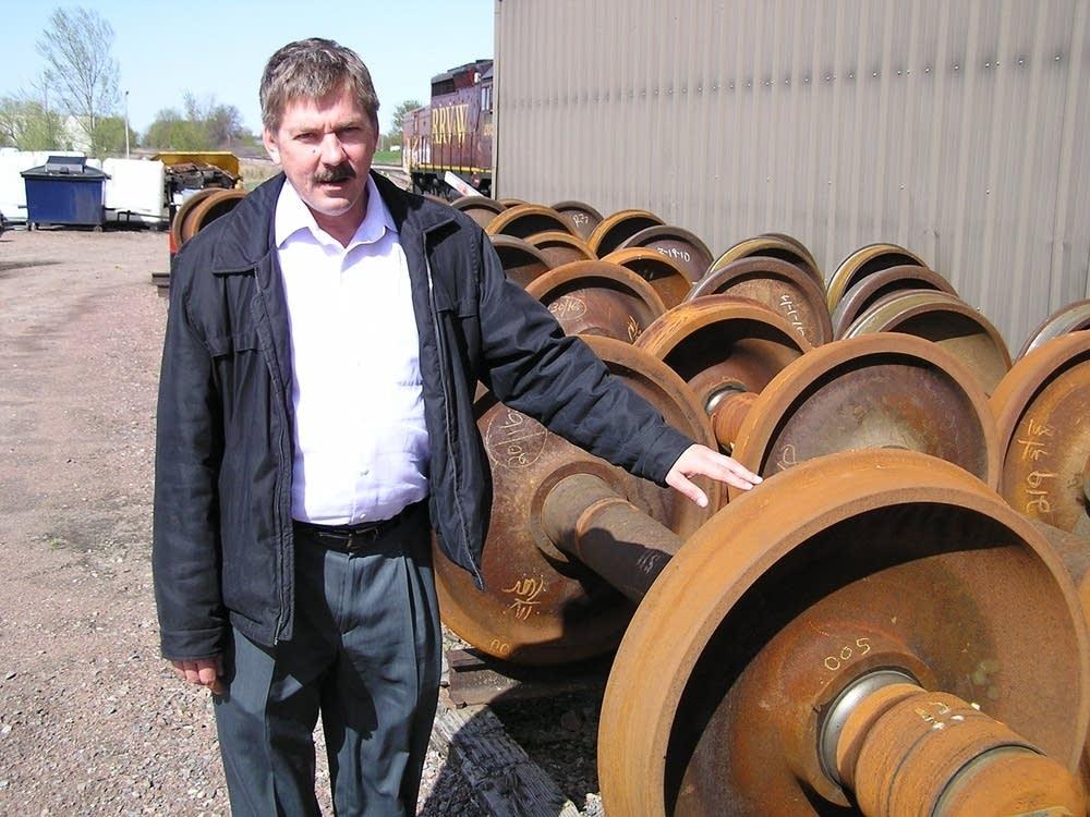 TCW Rail Company President Mark Wegner