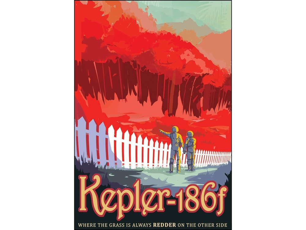 Kepler-186 f: Where the grass is always redder