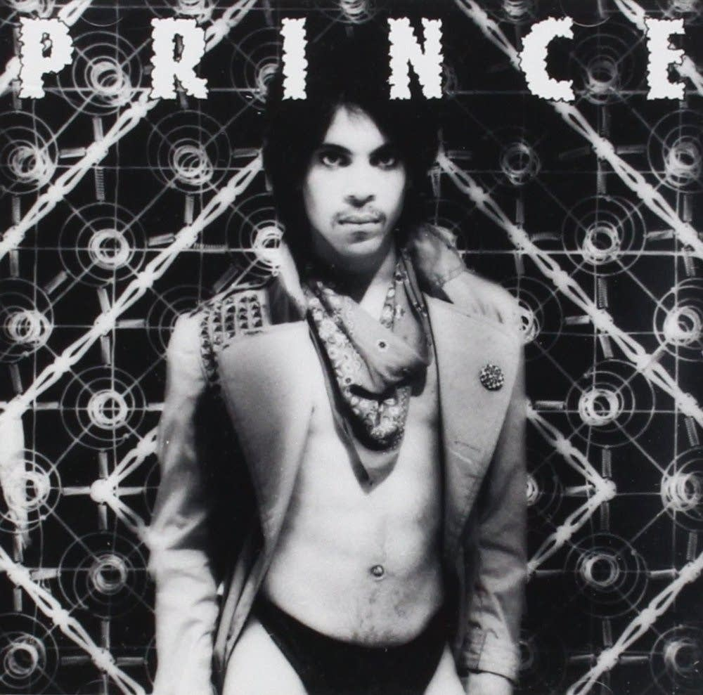 Prince on the cover of Dirty Mind
